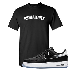 Colin Kaepernick X Air Force 1 Low Kunta Kinte Black Sneaker Hook Up T-Shirt