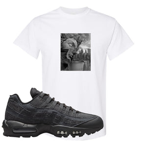 Air Max 95 Black Iron Grey T Shirt | Miguel, White