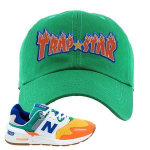 997S Multicolor Sneaker Kelly Dad Hat | Hat to match New Balance 997S Multicolor Shoes | Trap Star