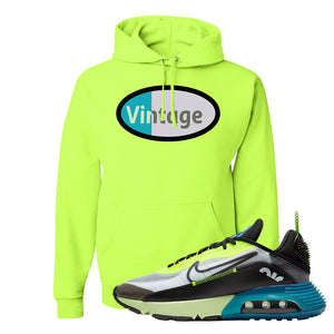 Air Max 2090 Volt Hoodie | Vintage Oval, Safety Green