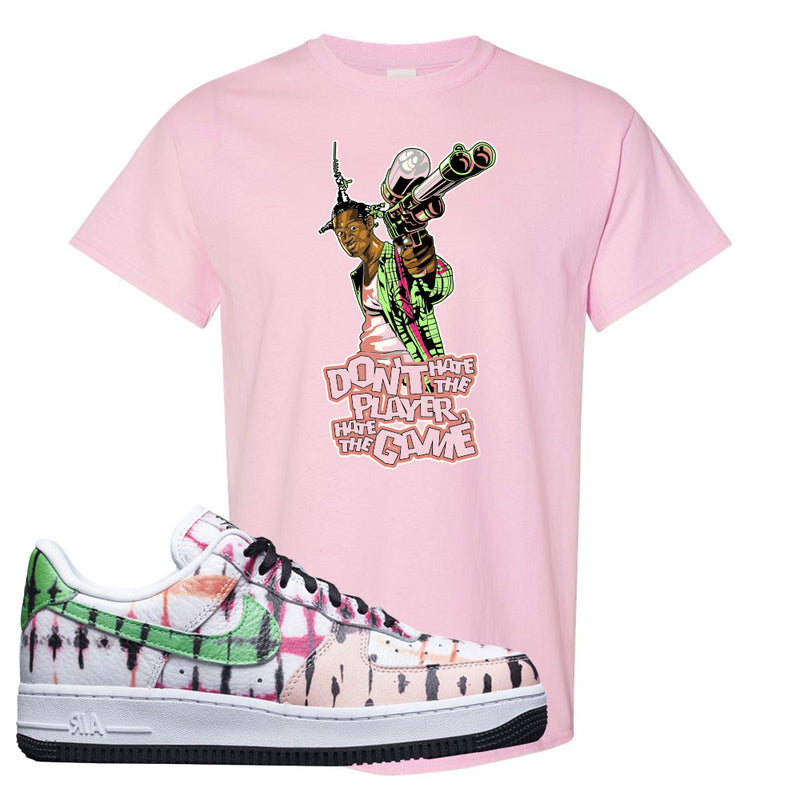 Air Force 1 Low Multi-Colored Tie-Dye T Shirt | Light Pink, Don't Hate The Playa