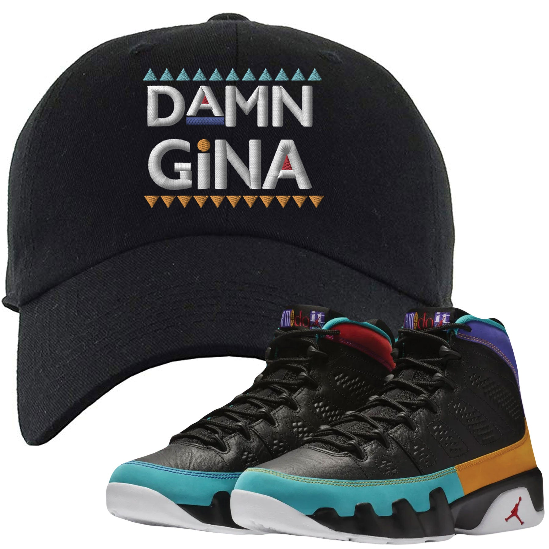 new product e3a2a 16885 Shop sneaker matching clothing to match your pair of Jordan 9 Dream It Do  It Sneakers