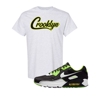 Air Max 90 Exeter Edition Black T Shirt | Crooklyn, Ash