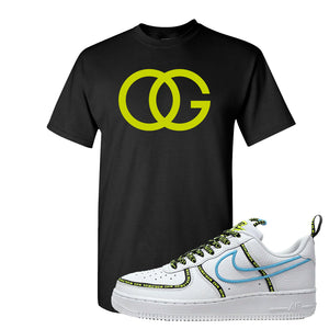 Air Force 1 '07 PRM 'Worldwide Pack' T Shirt | Black, OG