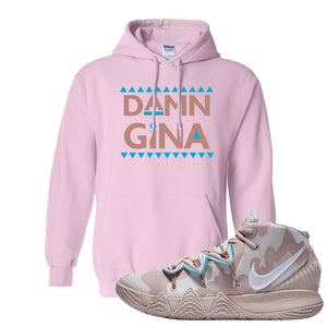 Nike Kybrid S2 What The Inline Pullover Hoodie | Damn Gina, Light Pink