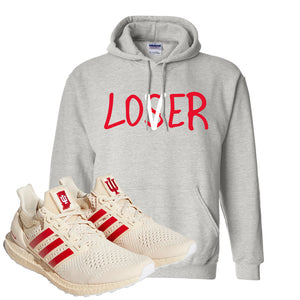 Adidas Ultra Boost 1.0 Indiana Pullover Hoodie | Lover, Ash