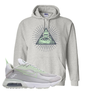 Air Max 2090 'Vast Gray' Hoodie | Ash, All Seeing Eye