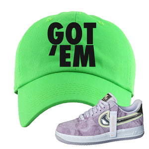 Air Force 1 P[her]spective Dad Hat | Neon Green, Got Em