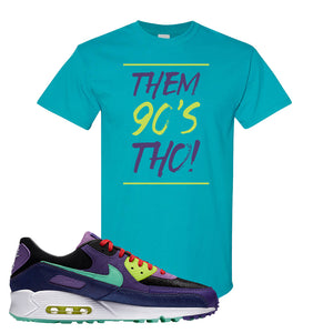 Air Max 90 Cheetah T Shirt | Them 90's Tho, Tropical Blue