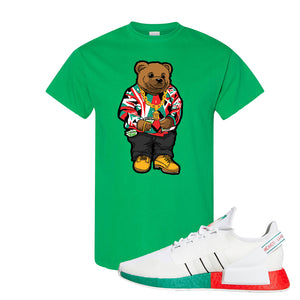 NMD R1 V2 Ciudad De Mexico T Shirt | Irish Green, Sweater Bear