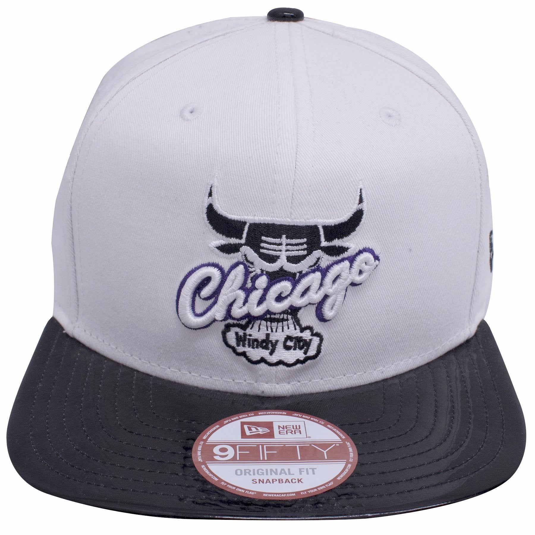 6dca15140941 on the front of the Chicago Bulls Air Jordan Retro 11 Concord sneaker  matching snapback hat