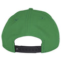 The back of this Wentz Green Philadelphia Eagles Snapback hat shows a black adjustable snap.