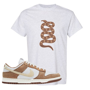 Dunk Low Medium Curry T Shirt | Coiled Snake, Ash