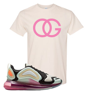 Air Max 720 WMNS Black Fossil Sneaker Natural T Shirt | Tees to match Nike Air Max 720 WMNS Black Fossil Shoes | OG