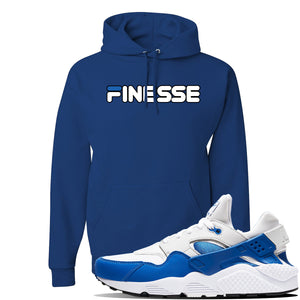 Huarache DNA Series Hoodie | Royal, Finesse