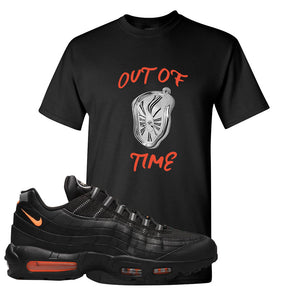 Air Max 95 Black/Orange T Shirt | Out Of Time, Black