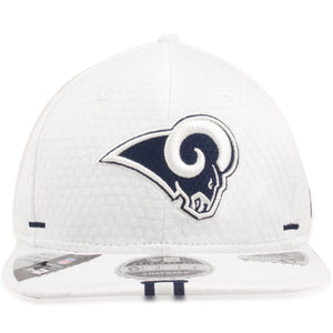 Los Angeles Chargers 2019 Training Camp White 9Fifty Snapback Hat