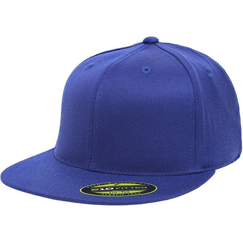 99b7fe550afa0 the blue flexfit flat brim stretch fit elastic fit fitted hat has a structured  crown
