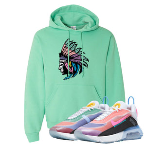 Air Max 2090 BeTrue 2020 Hoodie | Cool Mint, Indian Chief