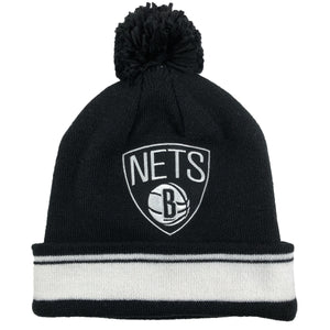 Brooklyn Nets Mitchell and Ness Winter Pom Beanie