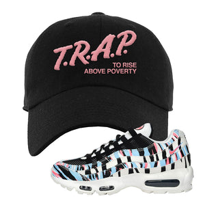 Air Max 95 Korea Tiger Stripe Dad Hat | Black, Trap To Rise Above Poverty