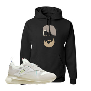 Air Max 720 OBJ Slip White Hoodie | Black, OBJ Head