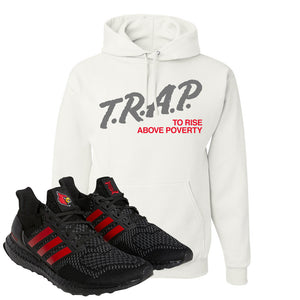 Ultra Boost 1.0 Louisville Hoodie | Trap To Rise Above Poverty, White
