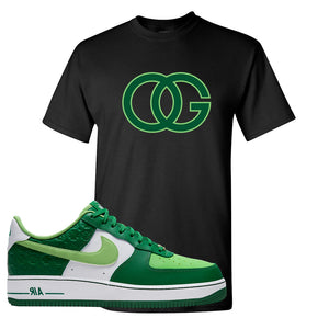 Air Force 1 Low St. Patrick's Day 2021 T Shirt | OG, Black