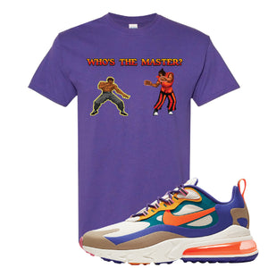 Air Max 270 React ACG T-Shirt | Lilac, Who's The Master