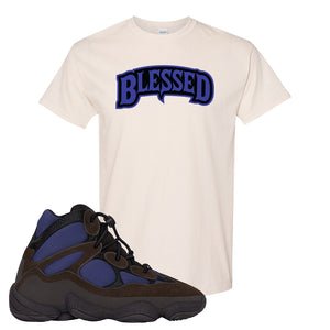 Yeezy 500 High Tyrian T Shirt | Natural, Blessed Arch