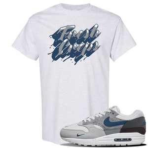Air Max 1 'London City Pack' Sneaker Ash T Shirt | Tees to match Nike Air Max 1 'London City Pack' Shoes | Fresh Creps Only