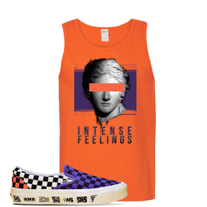 Vans Slip On Venice Beach Pack Tank Top | Orange, Intense Feelings