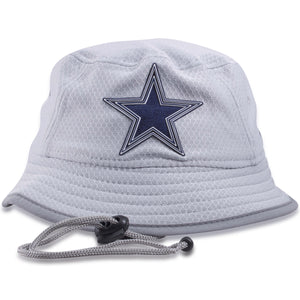 Dallas Cowboys Kid's Sized 2018 On Field Training Camp Bucket Hat