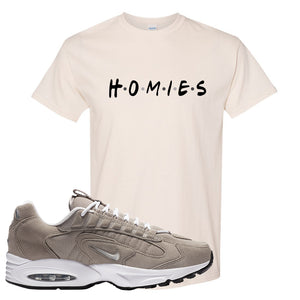 Air Max Triax 96 Grey Suede T Shirt | Homies, Natural