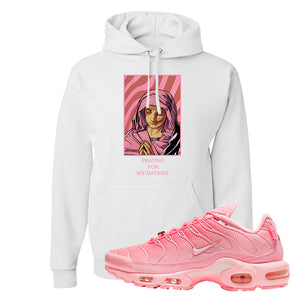 Air Max Plus Atlanta City Special Hoodie | God Told Me, White