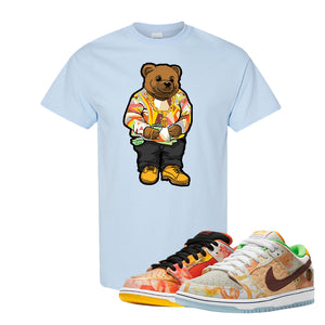 SB Dunk Low Street Hawker T Shirt | Sweater Bear, Light Blue