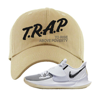 Kyrie Low 3 Dad Hat | Khaki, Trap To Rise Above Poverty