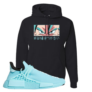 Pharell x NMD Hu Aqua Hoodie | Eyes Don't Lie, Black