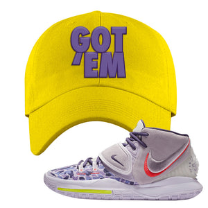 Kyrie 6 Asia Irving Dad Hat | Got Em, Yellow