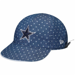Infant Dallas Cowboys Denim Reversible Stars and Stripes 9Twenty Dad Hat