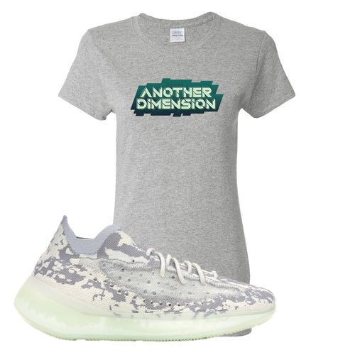 Yeezy Boost 380 Alien Another Dimension Sport Gray Sneaker Matching Women's T-Shirt