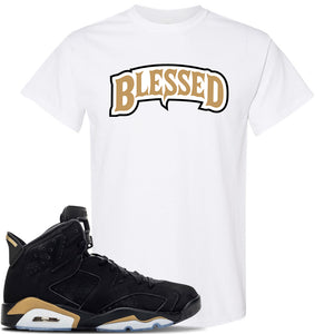 Jordan 6 DMP 2020 T Shirt | White, Blessed Arch