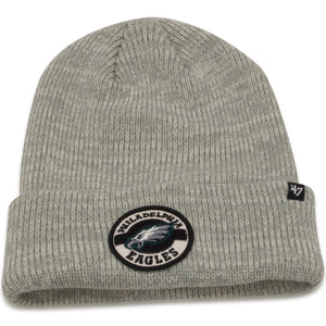 Philadelphia Eagles Plainfield Cuff Heather Gray Knit Beanie