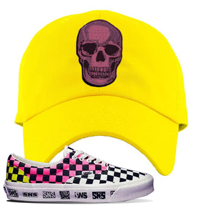 Vans Era Venice Beach Pack Dad Hat | Yellow, Skull