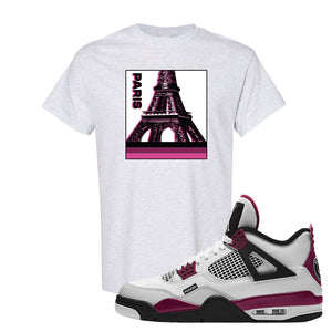 Air Jordan 4 PSG Paname T-Shirt | Paris Pop Art, Ash