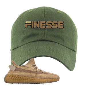 Yeezy Boost 350 V2 Earth Sneaker Dad Hat To Match | Finesse, Olive