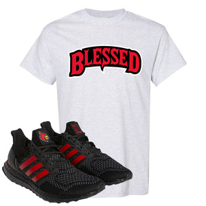 Ultra Boost 1.0 Louisville T Shirt | Blessed Arch, Ash