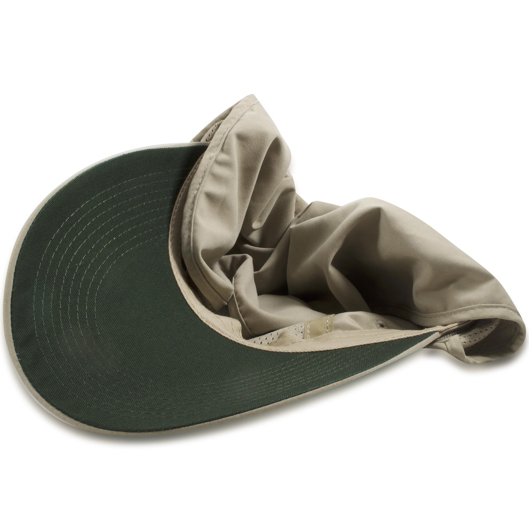 f1d2e9f1ac13a Dorfman Pacific Khaki Big Brim Fishing Hat with Removable Neck Flap ...