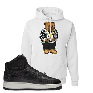 Air Force 1 High Hotline Hoodie | Sweater Bear, White