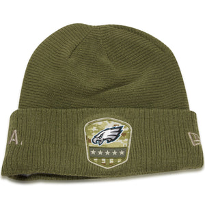 Philadelphia Eagles 2019 Salute To Service On Field Knit Beanie